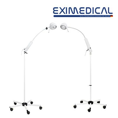 Lámpara led de examinación con brazo flexible